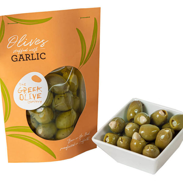 Olives Stuffed With Garlic